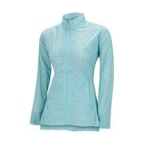 transparent fashion wind full zip jacket