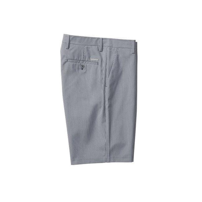 Flat Front Check Short