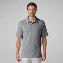 Matte Interlock Mini Stripe Golf Shirt