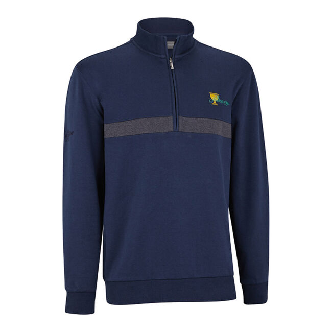 Interlock Half-Zip Layer