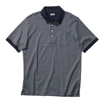 Signature Micro Stripe Cotton Pocket Golf Shirt