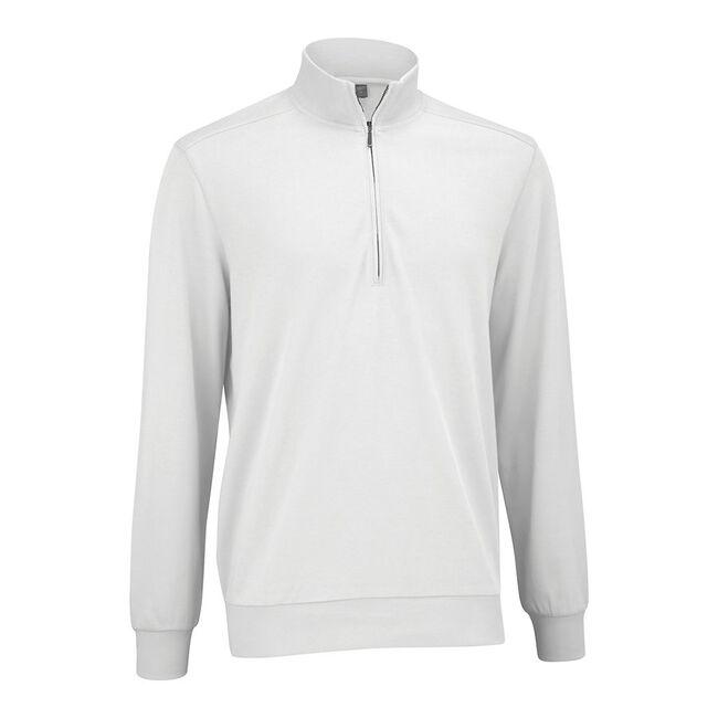 Mesh Back Fleece Half Zip Pullover