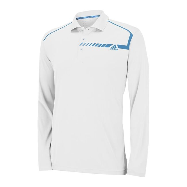climachill  Print Long Sleeve Polo