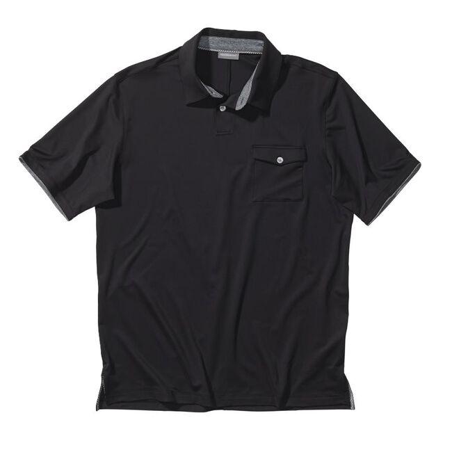 Performance Interlock Solid Pocket Golf Shirt