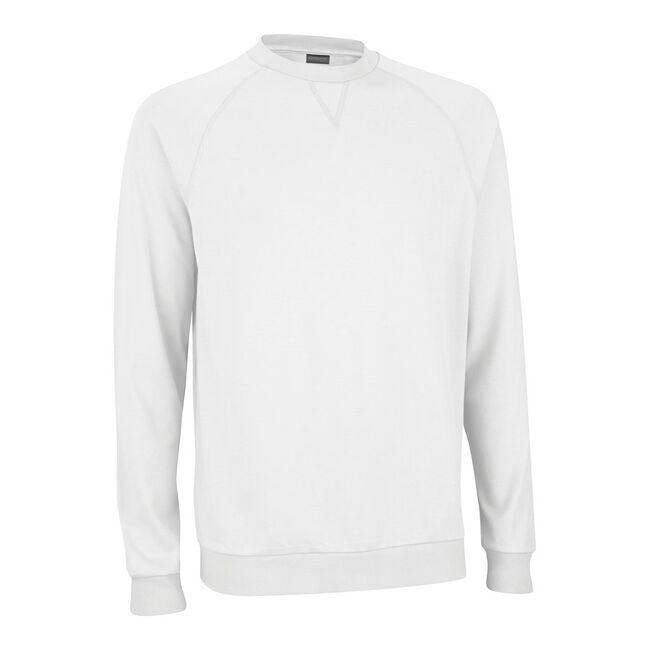 Mesh Back Fleece Pullover