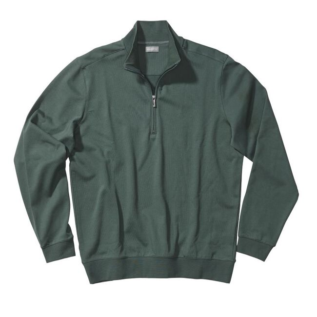 Mesh Back Half Zip Pullover