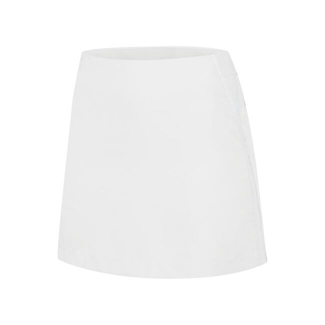Contrast Taped Woven Skirt