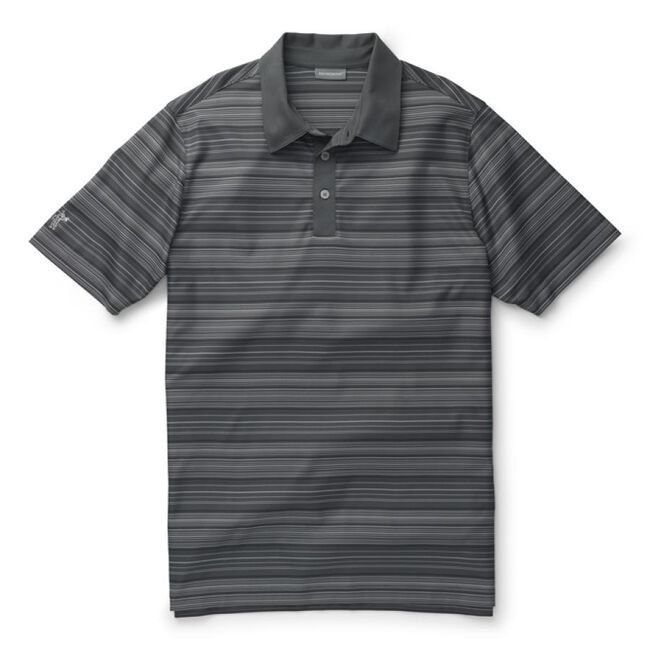 Performance Interlock Multi-Stripe Polo