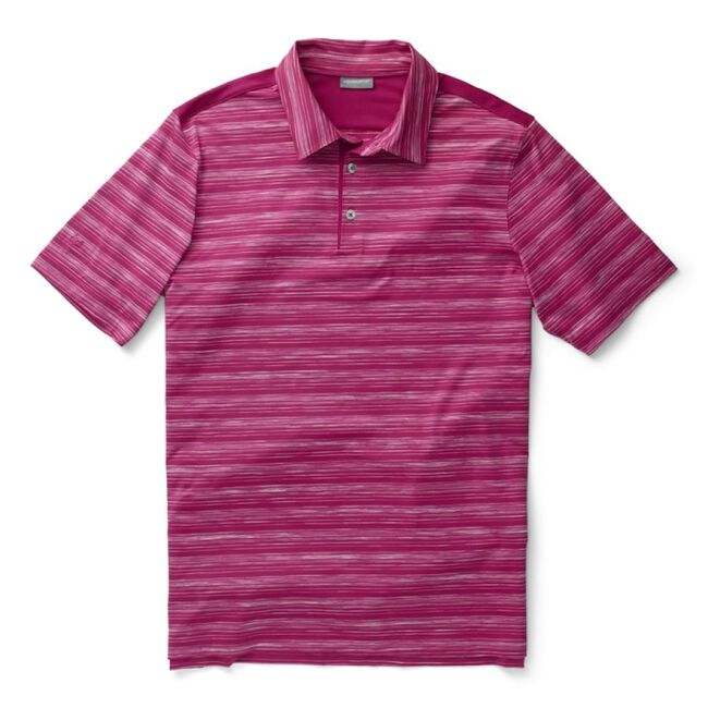 Performance Space Dye Stripe Polo