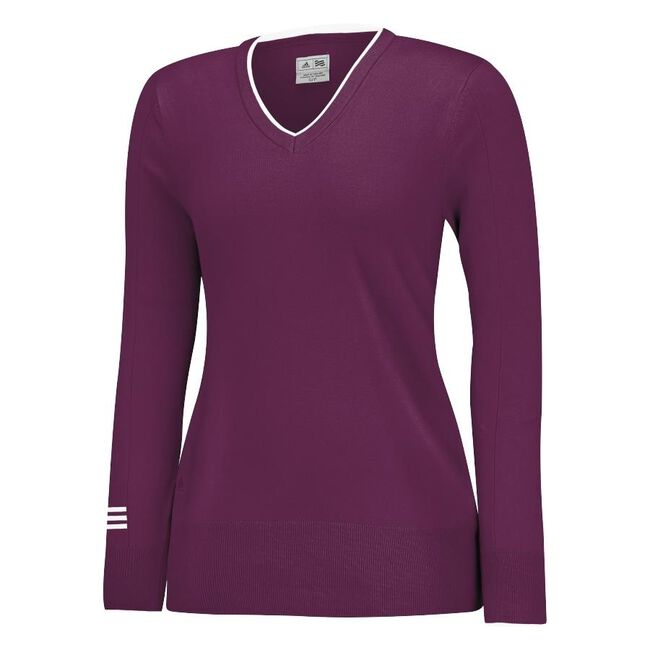 Roll Seam V-Neck Sweater