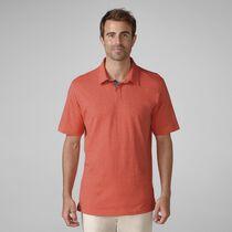 Cotton Linen Heather Golf Shirt