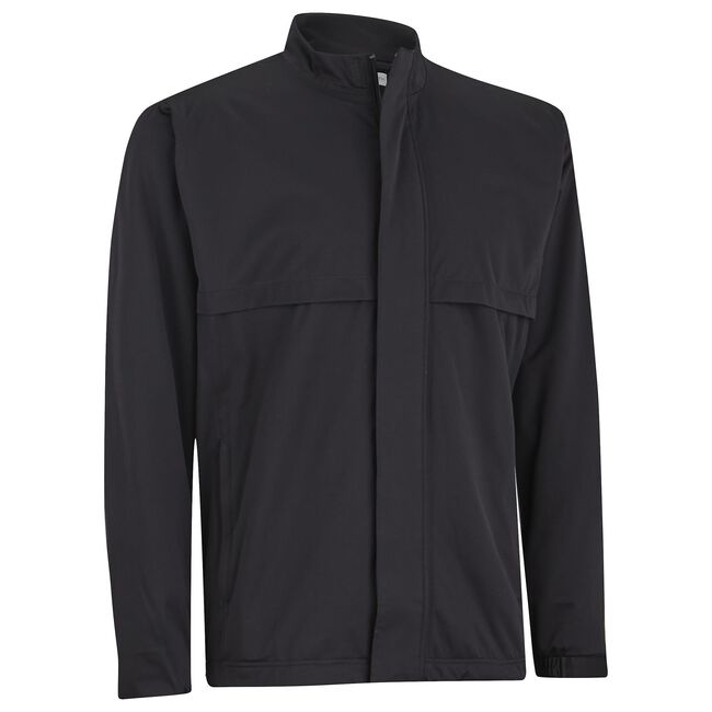 Waterproof Solid Stretch Rain Jacket