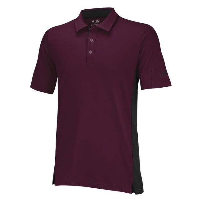 Puremotion Colorblock 3-Stripes Polo
