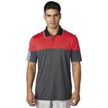 climachill 3-Stripes Blocked Polo