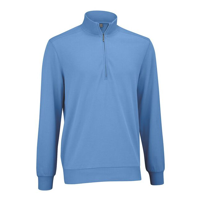 Mesh Back Fleece Half Zip Pullover