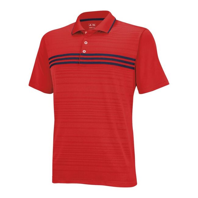 Boy's Puremotion 3-Stripes Chest Polo