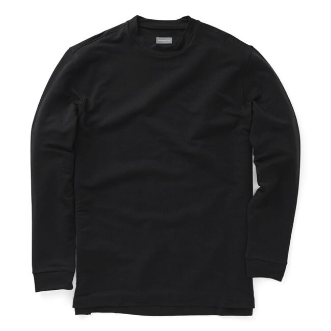 Performance Long Sleeve Mock Crew Neck