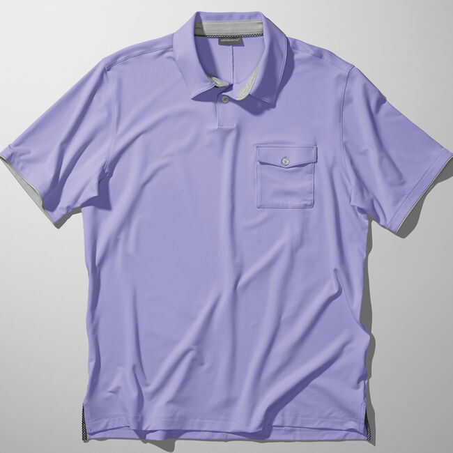 Performance Interlock Solid Pocket Golf Shirt