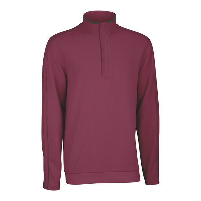 French Rib Solid Pullover
