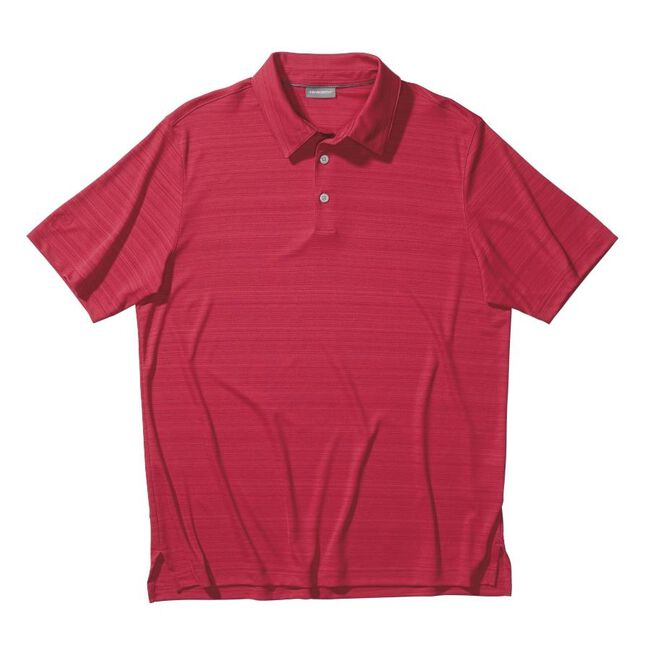 Performance Interlock Melange Golf Shirt
