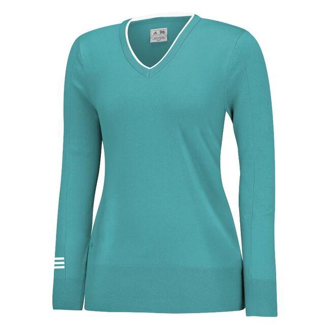 Roll Seam V-Neck Sweater