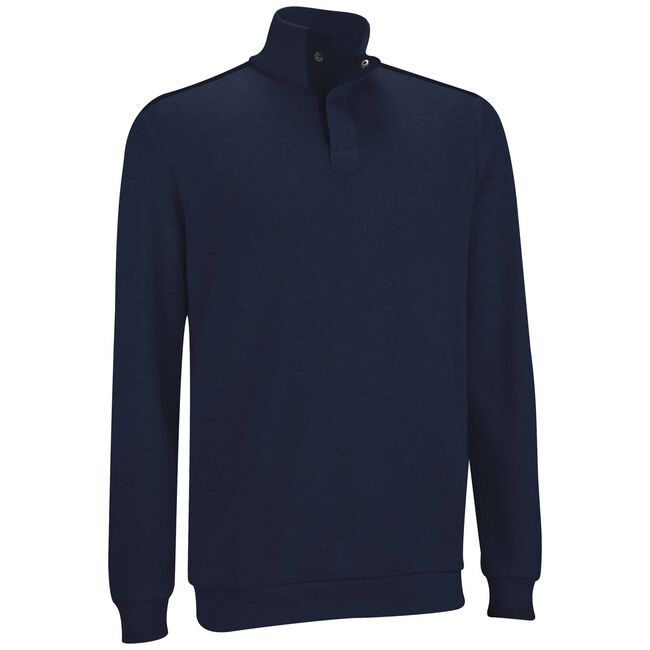 French Rib Woven Pullover