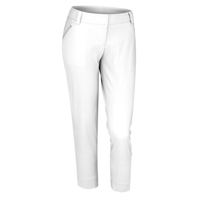 Contrast Cropped Pocket Pant