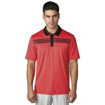 3-Stripes Textured Polo
