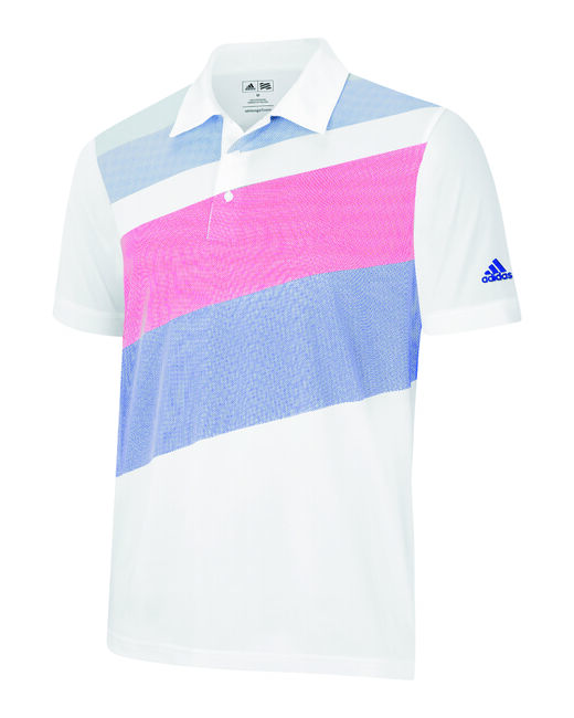 Boys ClimaLite Textured Print Polo