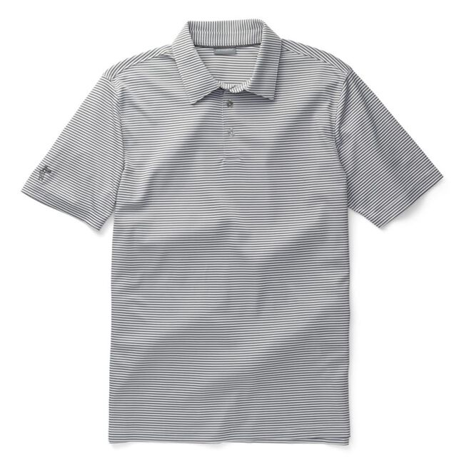 Performance Interlock Mini-Stripe Golf Shirt