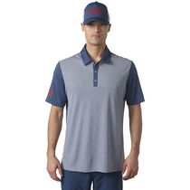 climachill USA Heather Stripe Polo