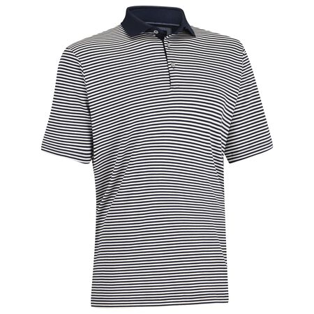 Interlock Stripe Golf Shirt