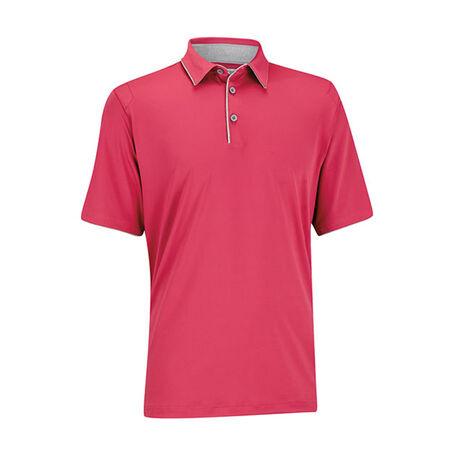 Matte Interlock Piped Golf Shirt