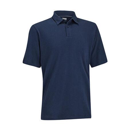 Cotton Stretch Pique Golf Shirt