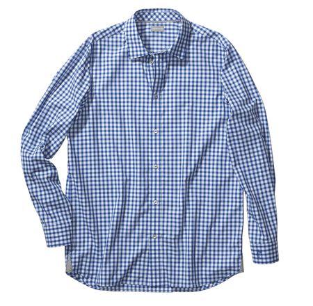 Windowpane Check Woven Shirt