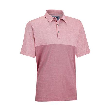 Premium Cotton Oxford Colorblock Golf Shirt