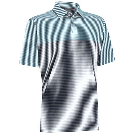 EZ-SOF Blocked Stripe Polo