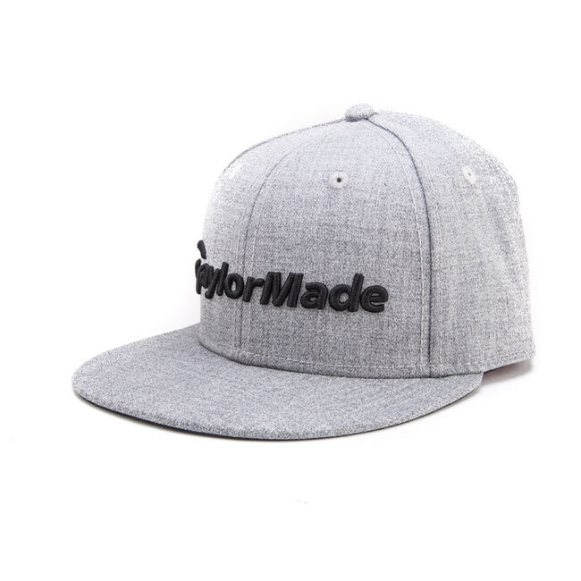 Fitted Flat Bill Hat