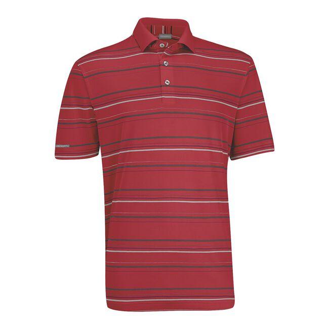 Performance Interlock Stripe Golf Shirt
