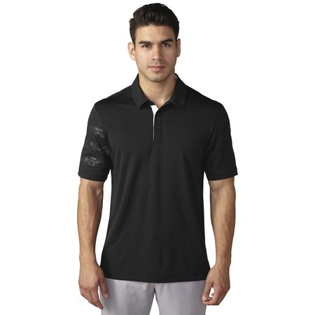 climachill™ debossed camo competition polo