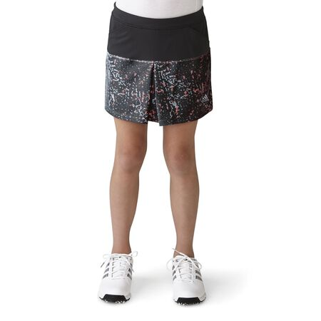 Girls Tour Mixed Print Pull-On Skort