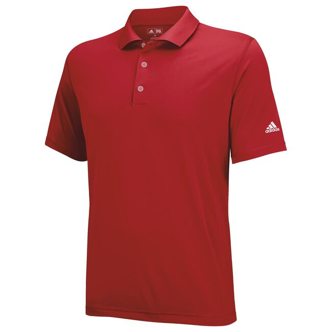 Boys Solid Jersey Polo