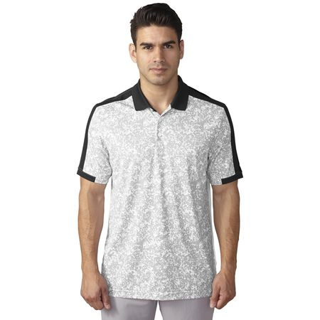 climacool® engineered camo block polo