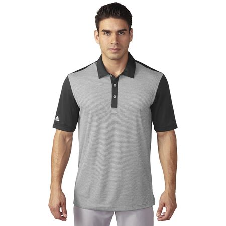 climachill Heather Stripe Polo