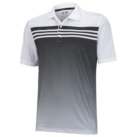 Junior ClimaCool 3 Stripes Gradient Polo