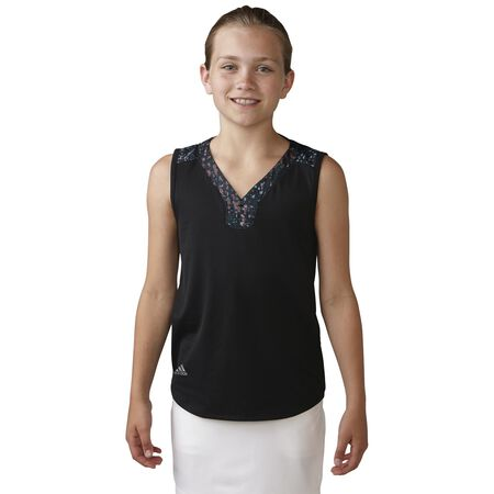 Girls Essential Mixed Print Polo