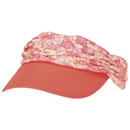 Ruched Fashion Visor