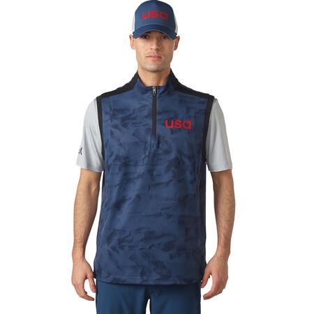 climastorm USA 1/4 Zip Wind Vest