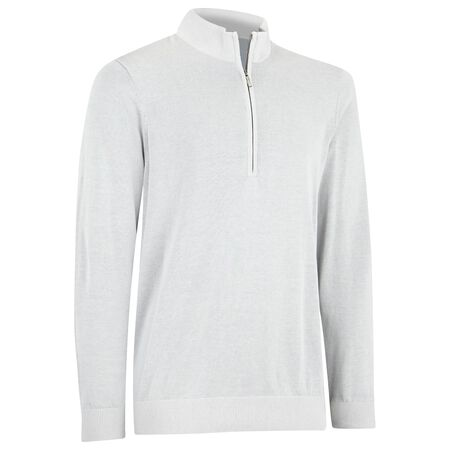 Pima Half Zip Sweater