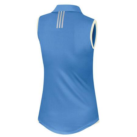 Essentials 3-Stripe Sleeveless Polo